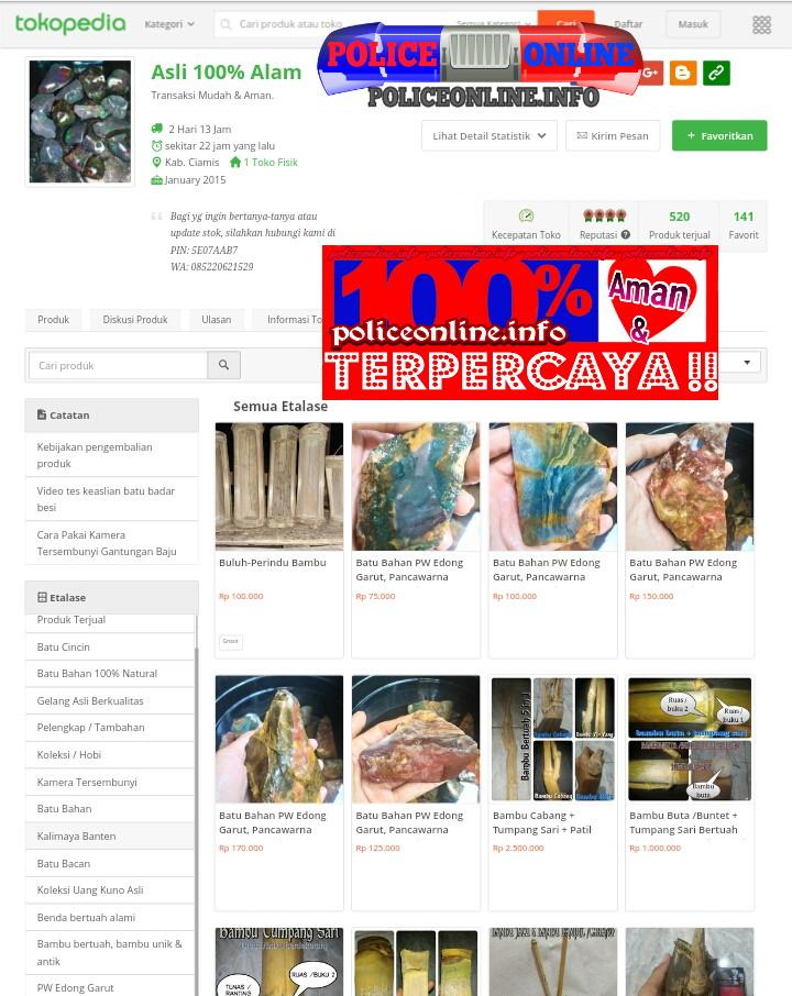 Menjual kalimaya asli banten, pw edong, bambu bertuah, bambu unik & antik