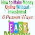 6 Legitimate Simple Ways to Make Money Online for Free