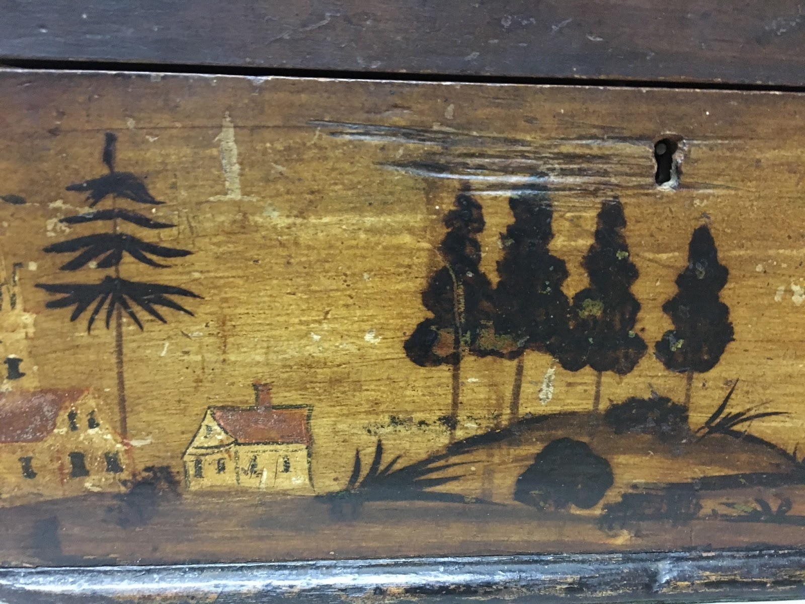 American Folk Art @ Cooperstown: Found in Collections - A Painted Box