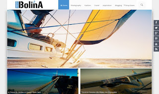 Bolina responsive blogger template