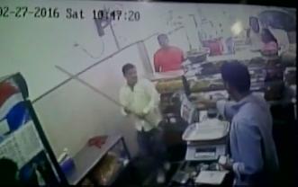 Shiv Sena has sacked its youth wing member Sunil Mahadik, who was caught on camera assaulting a shop keeper, demanding free vada paav.  The CCTV footage of Sunil Mahadik hitting Chetan Geveriya with a lathi was aired by a few TV channels in Maharashtra.