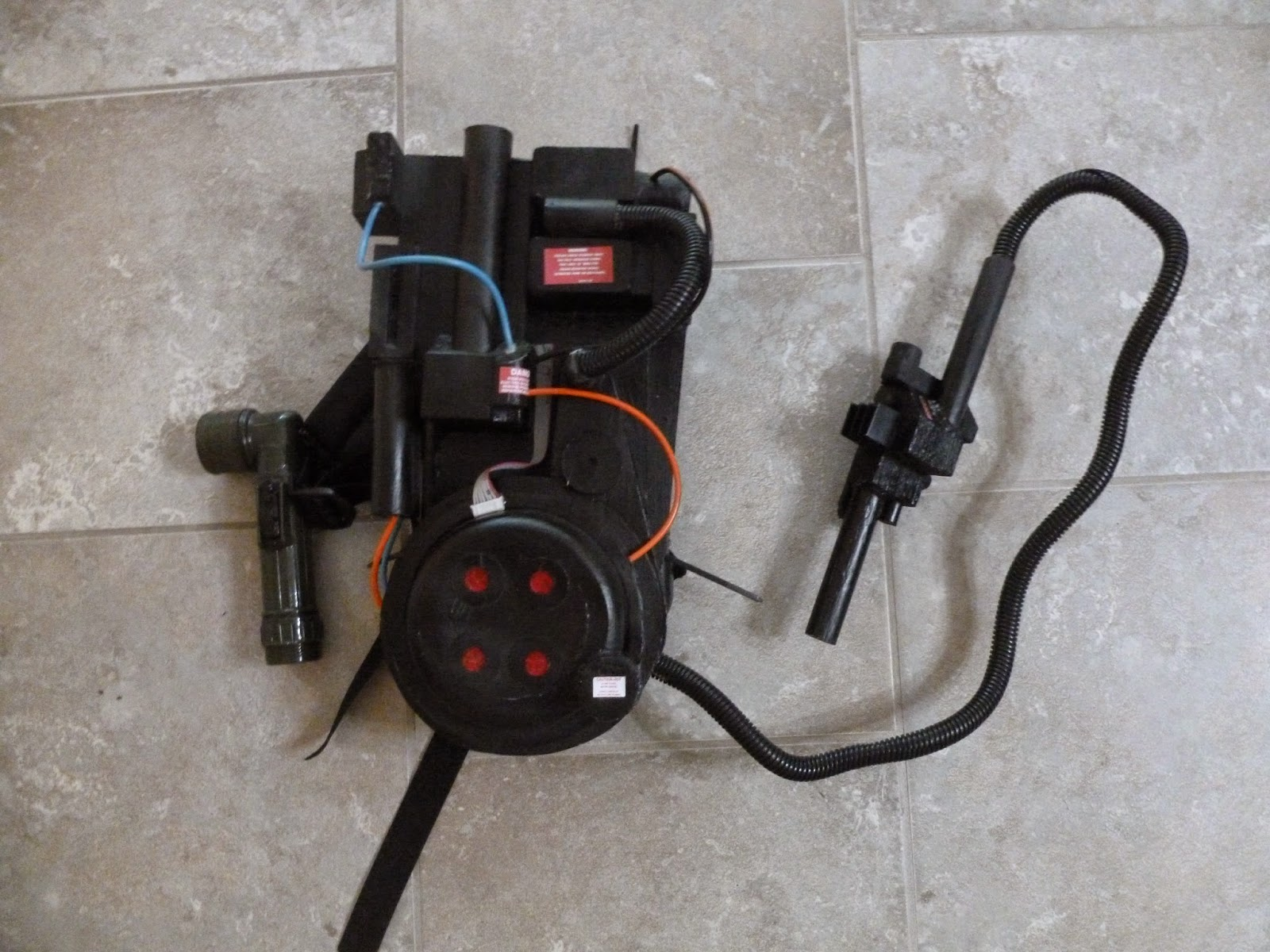 mini foam proton pack
