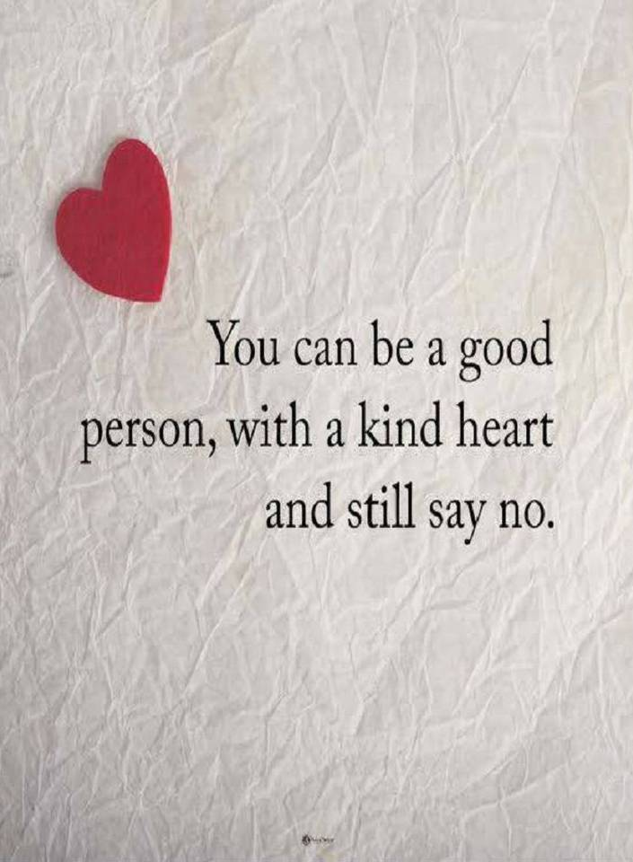 Quotes You Can Be A Good Person With A Kind Heart And Still Say
