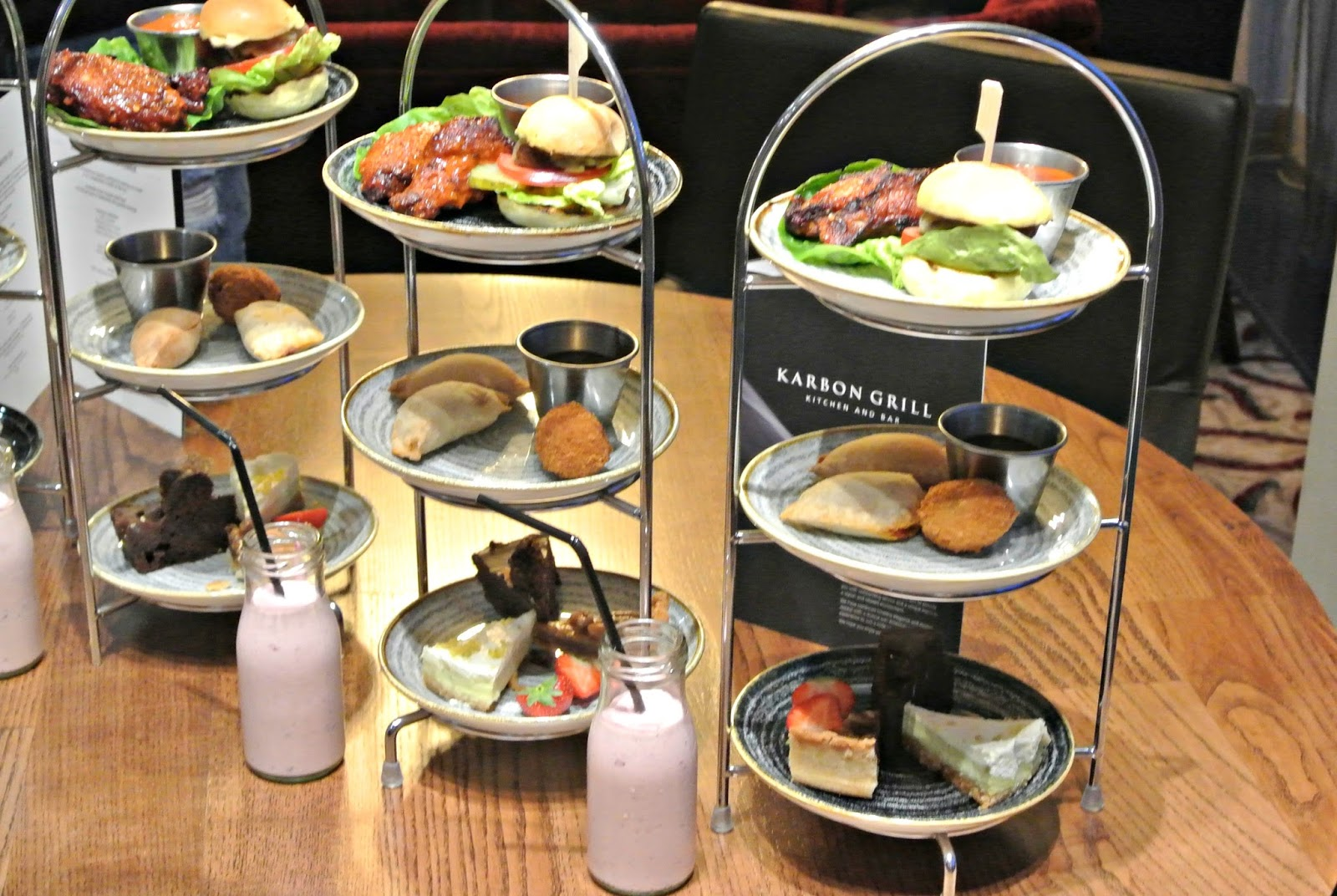 Karbon Grill American Style Afternoon Tea at Hilton Garden Inn, Sunderland Image