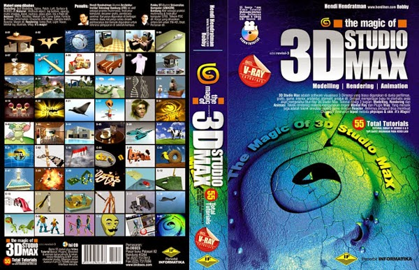 [DESIGN AND CREATIVITY] Buku desain, buku desain grafis, buku 3D desain, buku 3Ds Max, tutorial 3D desain, graphic design book