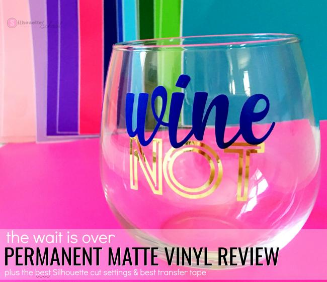 silhouette cameo permanent matte vinyl colors 651 equivalent