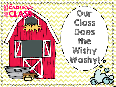Mrs. Wishy-Washy's Christmas book activities for Kindergarten