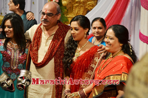 Spruha Joshi Wedding Engagement Photos
