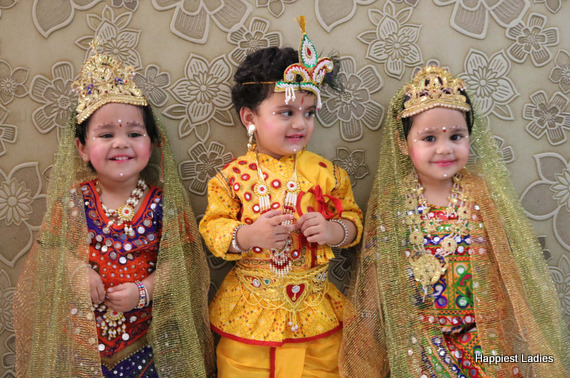 radha krishna dress for 2 year  kids