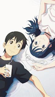 wallpaper anime tenki no ko