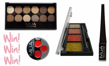 MUA makeup giveaway