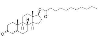 formula estrutura quimica undecanoato testosterona