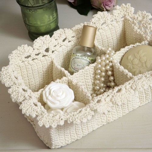 Lace Spa Basket - Free Pattern