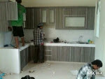 pemasangan / install kitchen set minimalis