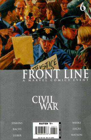 Civil War: Front Line #6 PDF