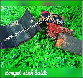 souvenir dompet stnk batik