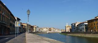 Callejeando por Pisa.