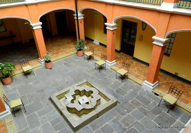 Hospedagem em Bogotá - Hotel de la Ópera, bairro de La Candelaria