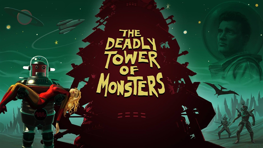 The Deadly Tower of Monsters Download Poster