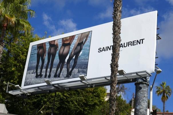 Saint Laurent tights s19 billboard