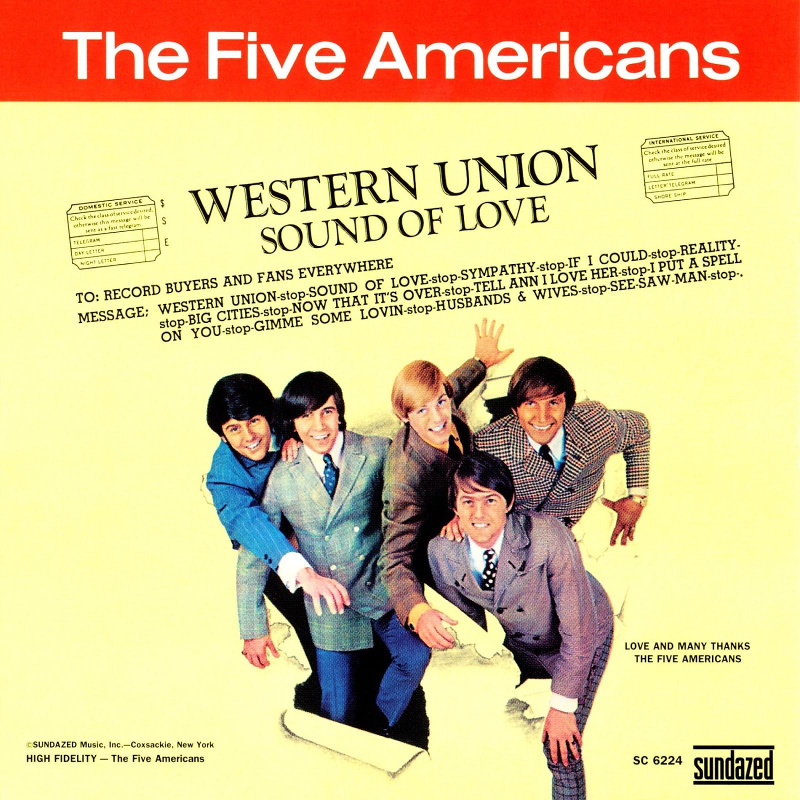 solidboy music blog five americans western union 1967. Black Bedroom Furniture Sets. Home Design Ideas