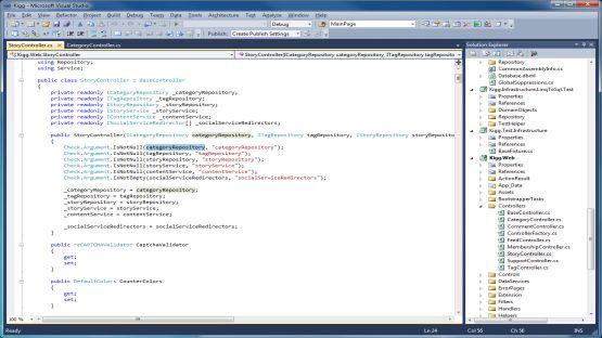 Visual Studio 2010 screenshot 2