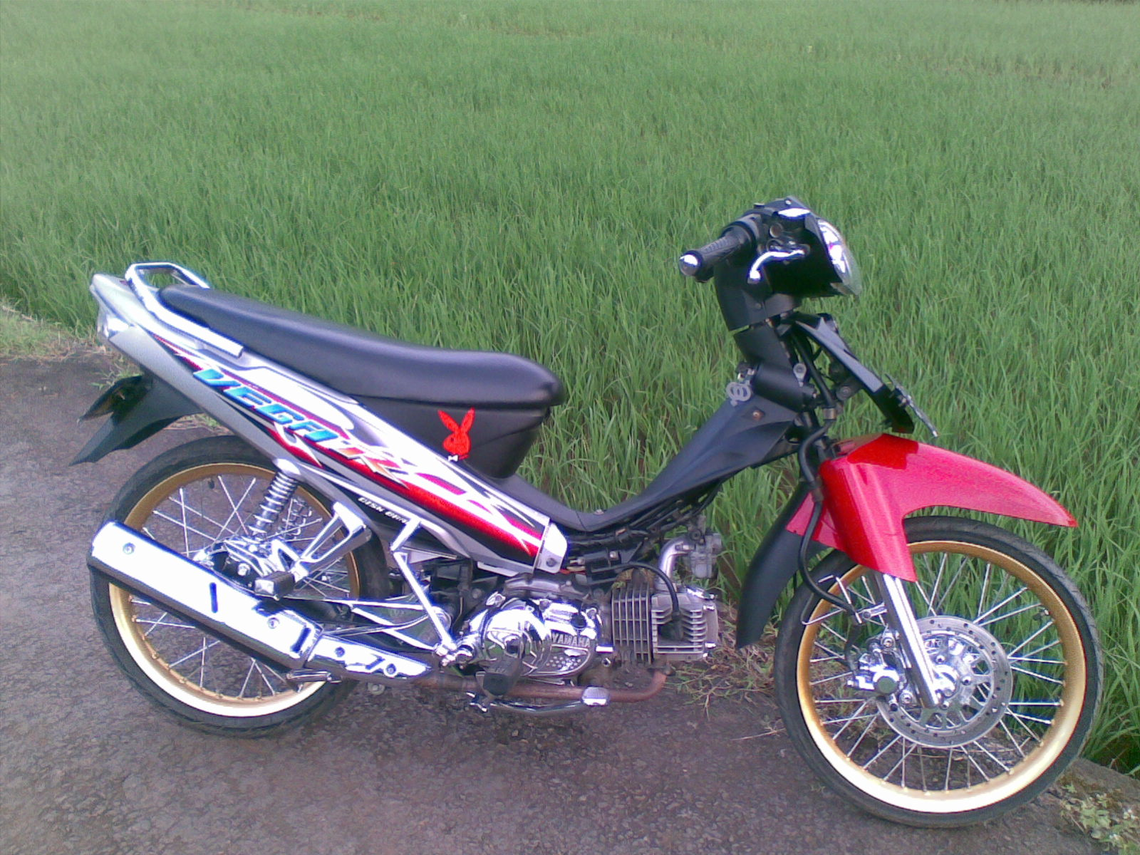 Modifikasi Motor Vega R