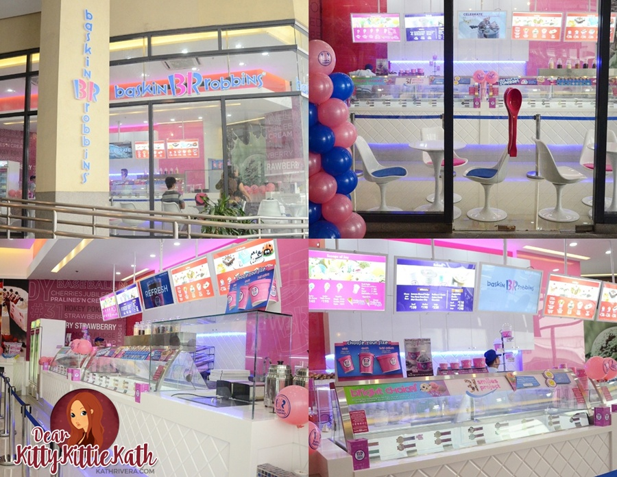 Baskin Robbins Glorietta 5 Now Open Dear Kitty Kittie