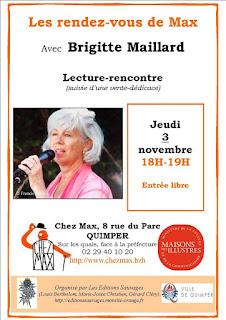 Les Rendez-vous de Max Brigitte Maillard