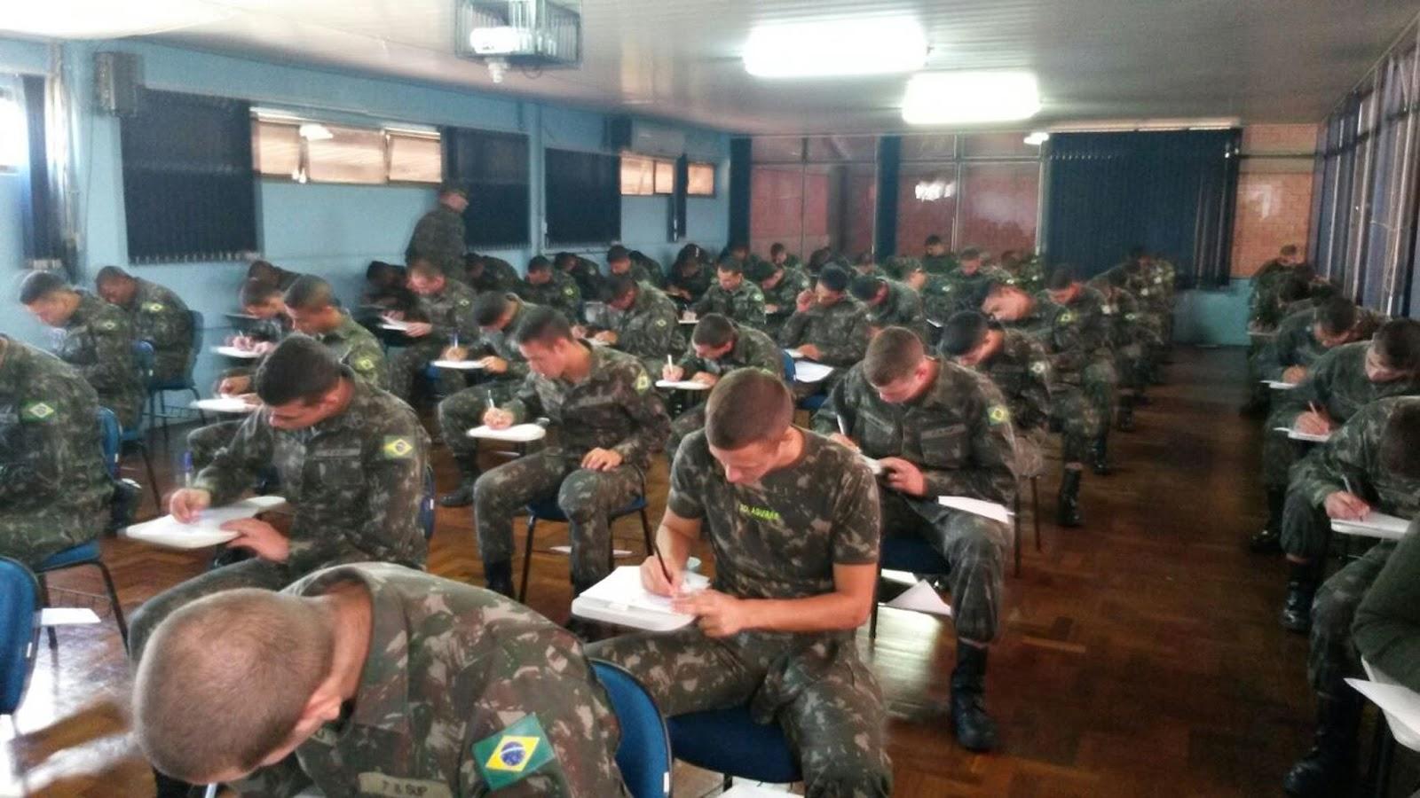 Concurso aberto com 1.100 vagas para os Cursos de Formação de Sargentos do Exército