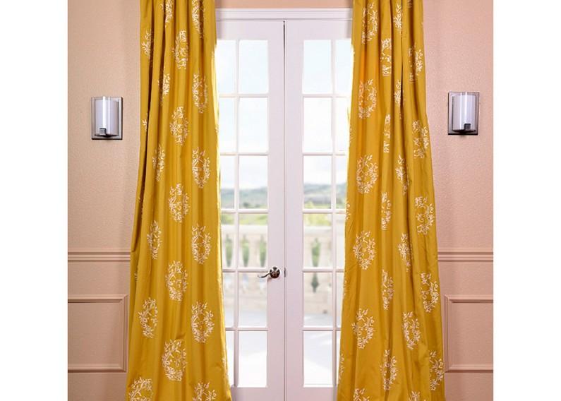 citrine curtains closed