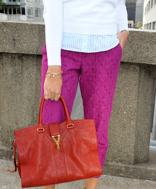 8da31f802b5f So, I cannot tell you how delighted I was to see these gorgeous pants above  from ASOS over on Britt and Whit's blog. They are a mere fraction of the J  Crew ...