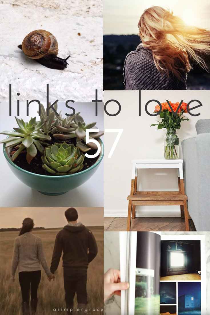 Links to Love | 57 - A Simpler Grace -  A post featuring my favorite reads from the week.  #linkstolove #fridayfavorites