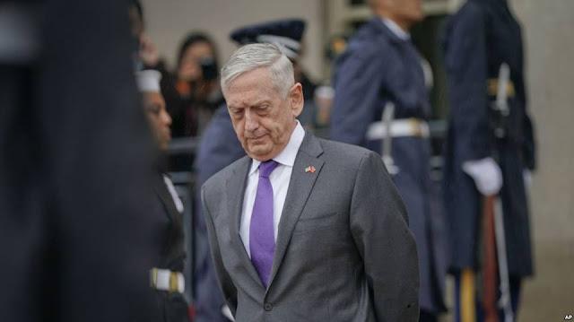 Bộ trưởng Quốc phòng Mỹ Jim Mattis