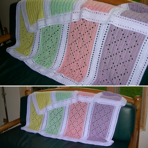 Little Baby Blanket - Free Pattern