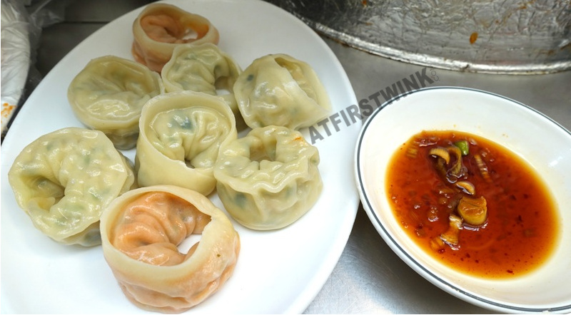 Kwangjang market seoul korea mandu soy sauce dip sauce