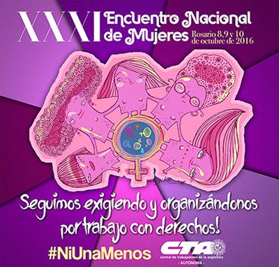 La CTA Autónoma rumbo al Encuentro de Mujeres en Rosario