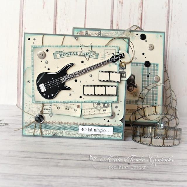 You rock! 40th birthday card