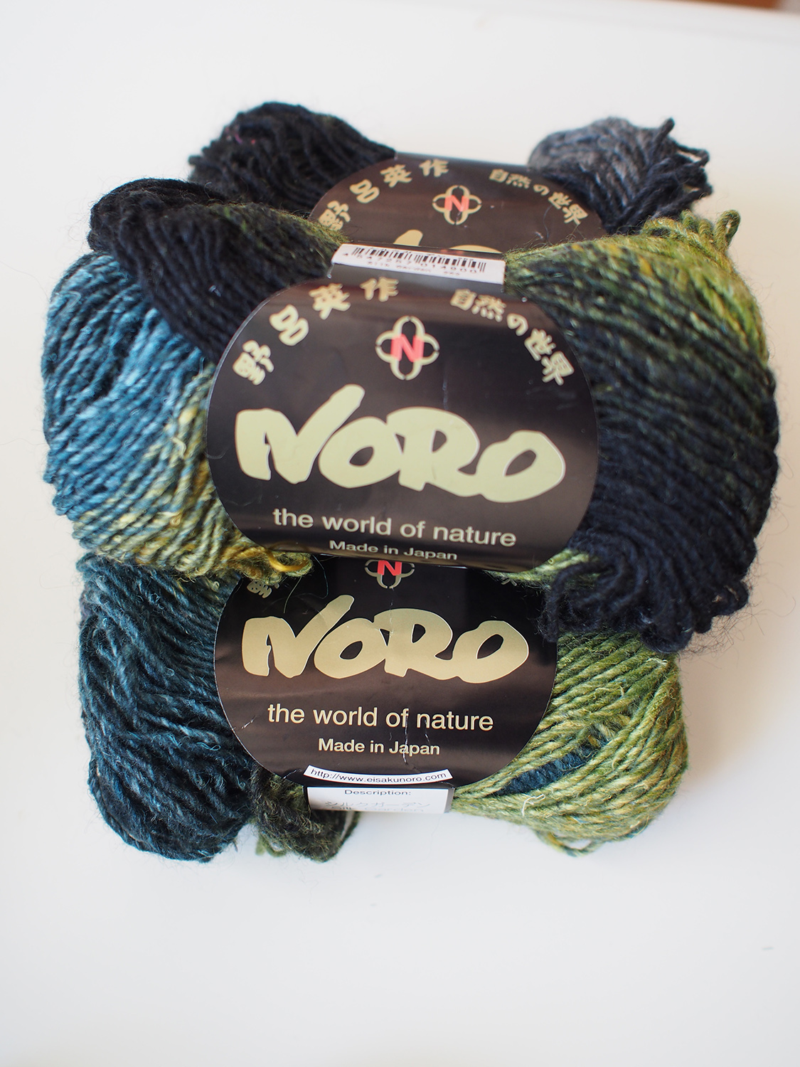 Noro Silk Garden, photo by blogger Dayana Knits