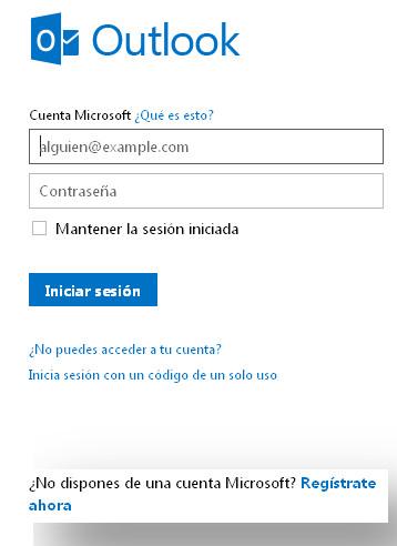 Cómo crear una cuenta de Correo Outlook