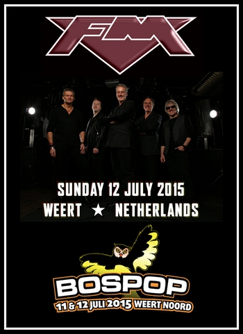 FM at Bospop festival 12 July 2015
