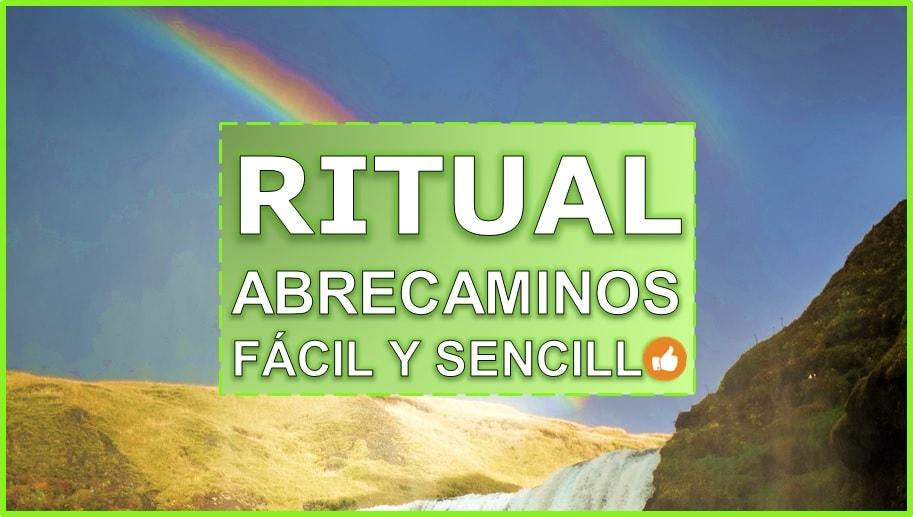 Comencemos hoy mismo a abrir caminos con el ritual abrecaminos casero y facil