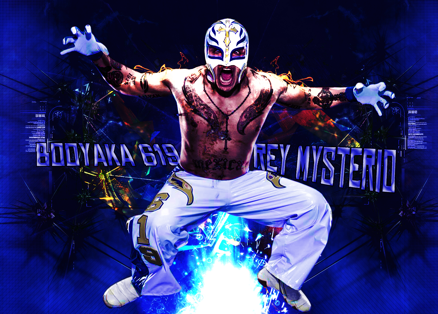 Rey Mysterio 2013 Wallpaper | Wrestling and Wrestlers