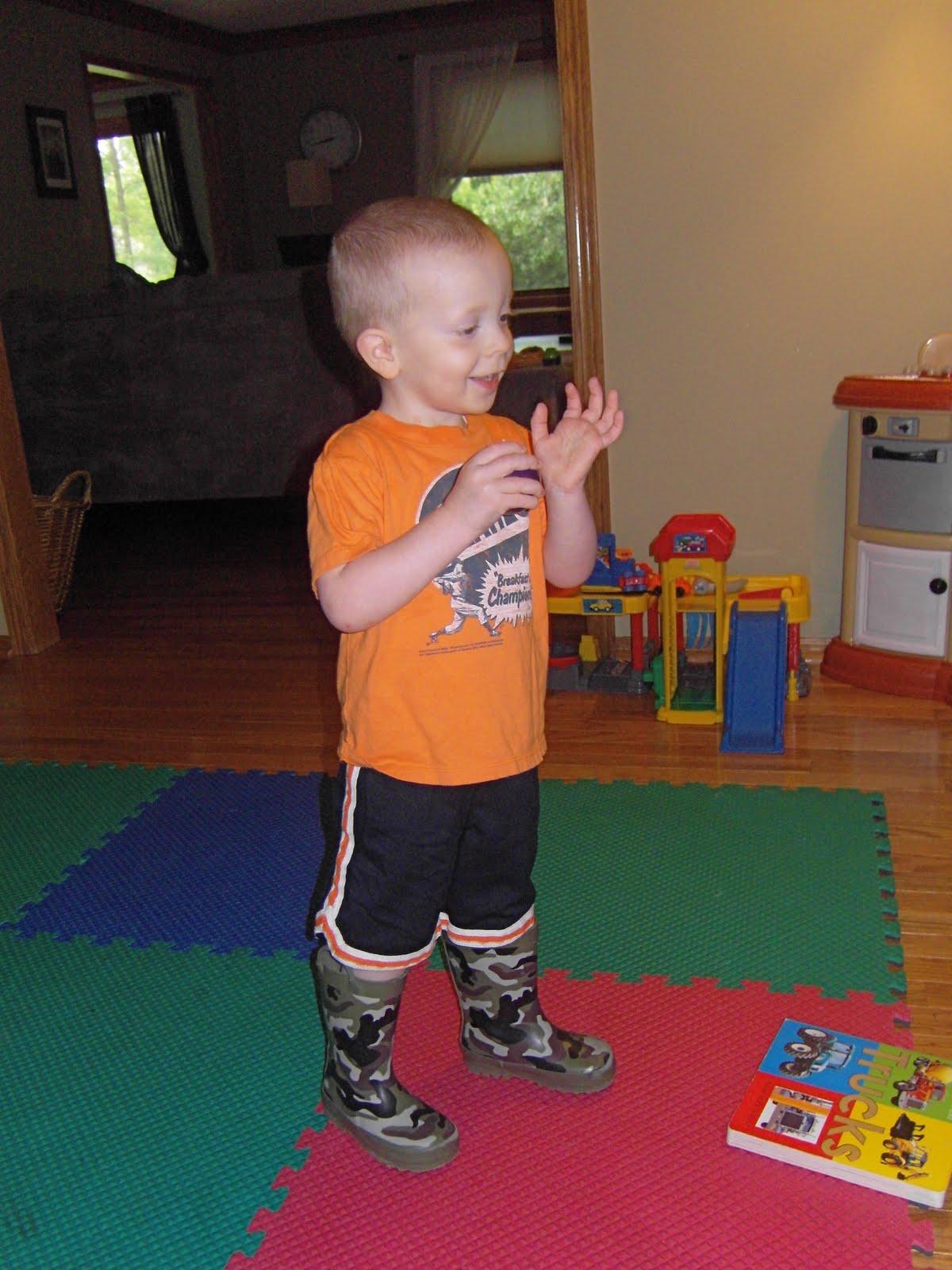 Jaxon and Brady's Journey: Toddler boy antics