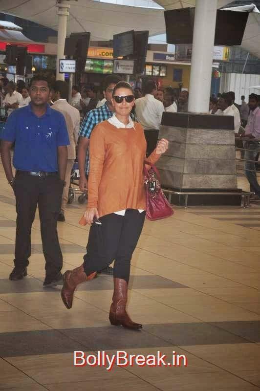 Neha Dhupia snapped at the airport, Sunny Leone, Neha Dhupia, Sonakshi Sinha Snapped At DIfferent Events