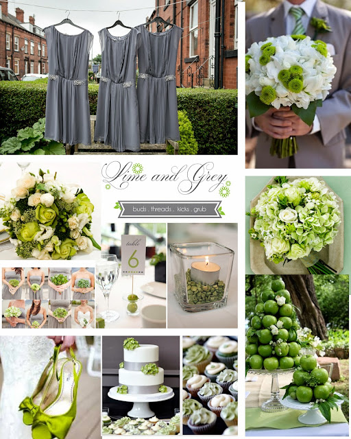 Lime Green Wedding Ideas: Tulip Invites: Color Crave: Grey Series {LIME, CORAL
