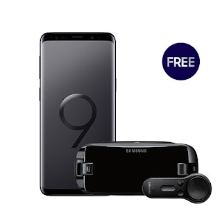 SAMSUNG GALAXY S9 with FREE GEAR VR w/ CONTROLLER