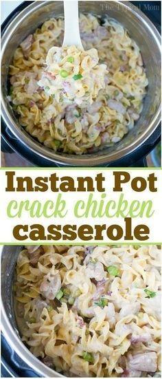 Instant Pot Crack Chicken Casserole