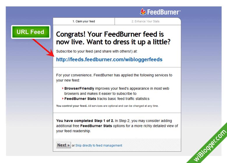 Cara pasang widget berlangganan email di blog