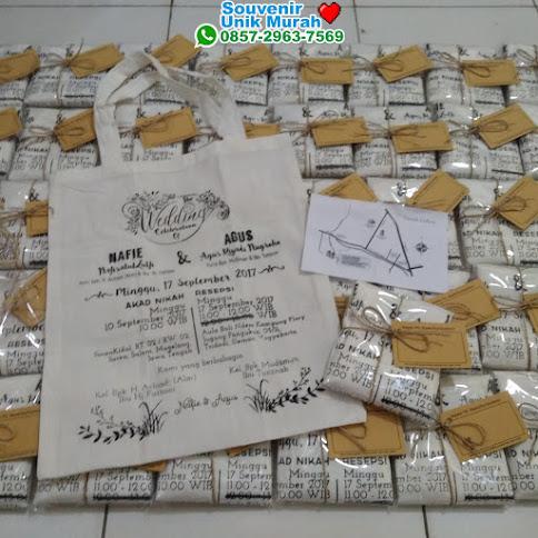 supplier Undangan Tas Blacu Rofi dan Eko harga murah 49875